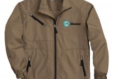 Contrast Zip Jacket